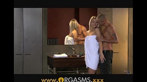 ORGASMS Sexy Blonde Has Sex In Bathroom XVIDEOS COM