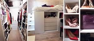 Dressing Petit Espace : dressing gain de place 4 solutions d architectes pour optimiser l espace ~ Teatrodelosmanantiales.com Idées de Décoration