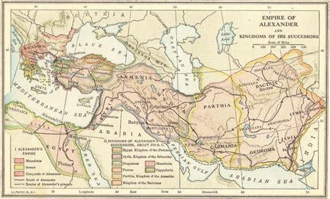 empire  alexander  great map