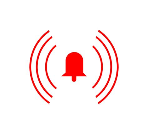 alarm ring bell icon   vectors clipart