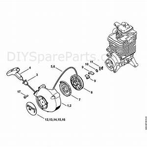 Stihl Br 700 Backpack Blower  Br 700  Parts Diagram  E