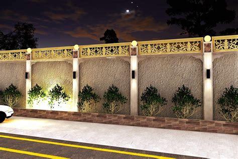 boundary wall design  israr ahmed  coroflotcom