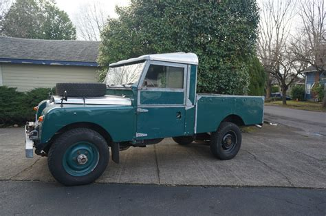 land rover land rover series  diesel  pickup