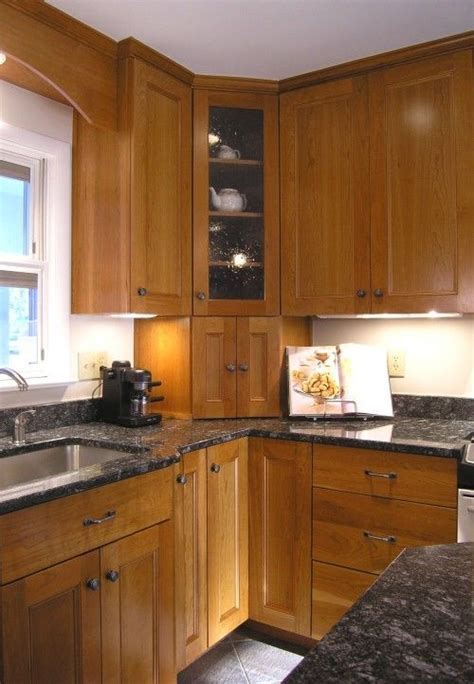 Garage Cabinets And Countertops by Corner Cabinet For Appliances One Door Or Two Doors