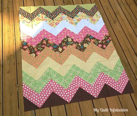easy chevron quilt patterns favequiltscom