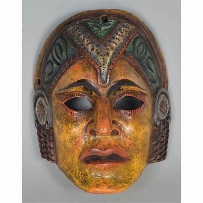 Mask Face America Guatemala Latin Second Mayan