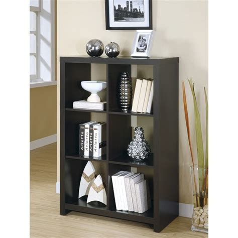 Wood Room Divider Bookcase by Cappuccino Wood 48 Inch Room Divider Bookcase 13865250