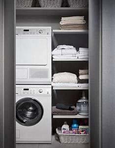 Waschmaschine Auf Trockner Stapeln : bagno piccolo con lavatrice lavander a pinterest badezimmer w sche und waschraum ~ Markanthonyermac.com Haus und Dekorationen