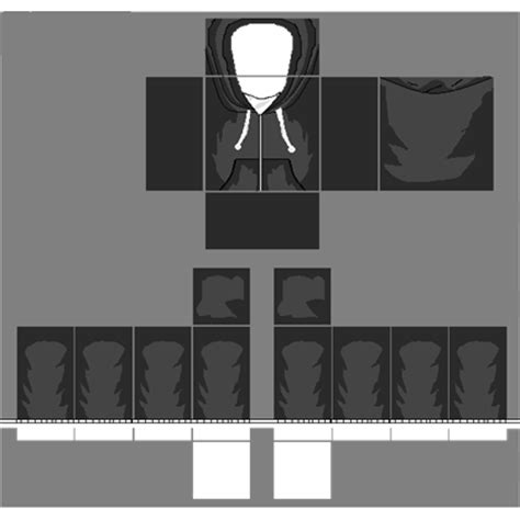 Transparent Hoodie Template Cool by Roblox How To Make Shirts