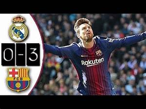 Real Madrid 0-3 Barcelona | Full Match | Partido Completo ...  Real