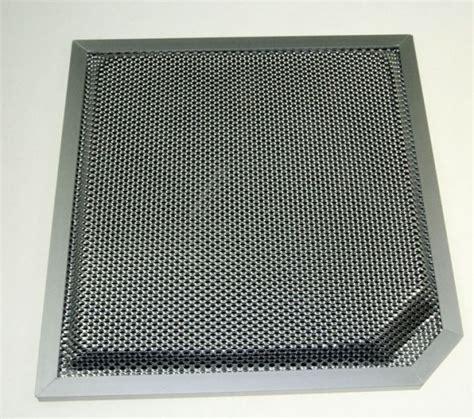 filtre hotte cuisine filtre à charbon cr410 pour hottes glem xhi900 901ix