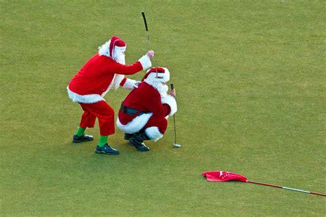 5 presents for the avid golfer - Santa Golfer