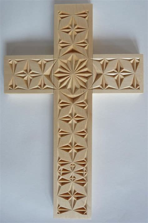 chip carved cross  mychipcarving  lumberjockscom