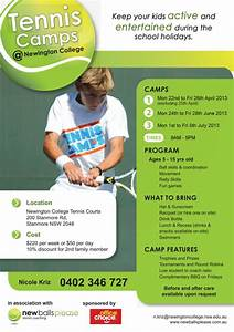 Holiday Tennis Camps At Newington College