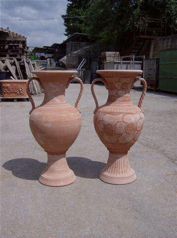 vasi grandi in terracotta vasi terracotta anfora alta bm408 terracotta bm408