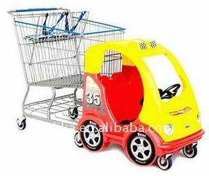 Kids Plastic Shopping Cart With A Toy Car - Buy Kids ...