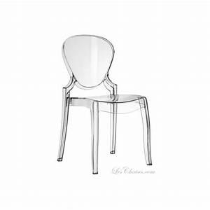 Chaise Plastique Transparente : chaises plastiques transparentes design table de lit a roulettes ~ Melissatoandfro.com Idées de Décoration