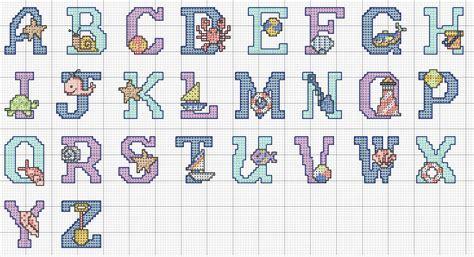 Se partilha esta paixão pelo ponto cruz ou crochê, siga o meu blog. Alfabeto em Ponto Cruz - Oceano ~ Arte De Fazer | Decoração e Artesanato