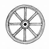 Wagon Wheel Clipart Clip Coloring Covered Cg Lds Cliparts Conestoga Clipartlook 123clipartpng Clipartkid Guardado Desde sketch template