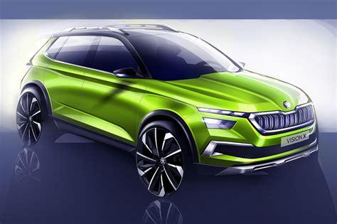 Skoda Vision X Concept Suv Pics, Specs And Details Car