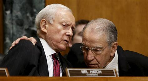 What the Senate Judiciary Committee Republicans Say They