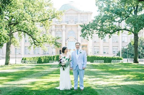 allison and alistair s new york botanical gardens wedding
