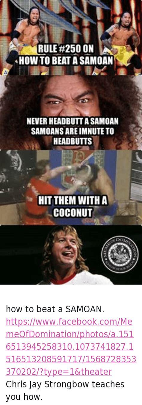 Samoan Memes - 25 funny jay and world wrestling entertainment memes of