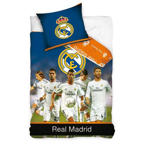 housse de couette cristiano ronaldo official real madrid single duvet covers football bedding new free p p