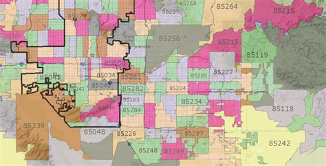 zip code maps business chronos