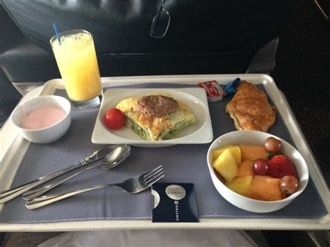 Airplane breakfast | Jamie Todd Rubin