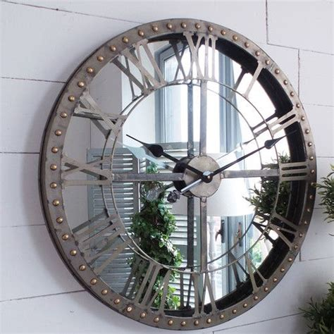 wayfaircouk cm industrial wall clock