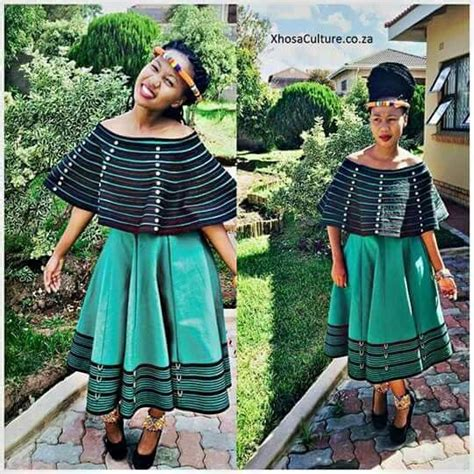 Modern Xhosa Traditional Outfits