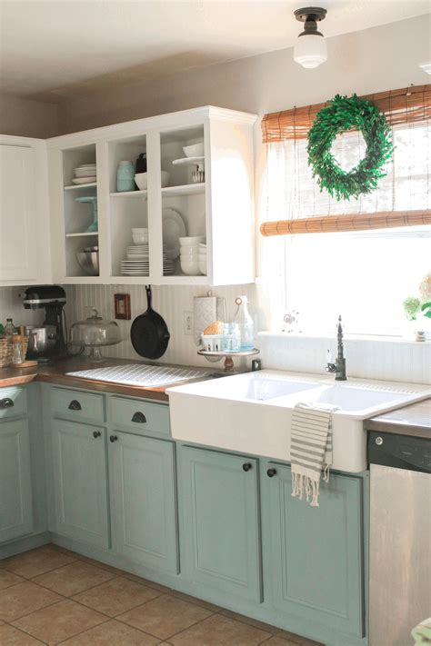 Open Kitchen Shelves Instead Of Cabinets Interior