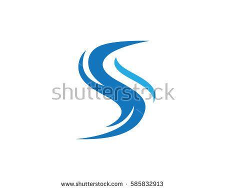 s logo icon design alphabet letter stylish river logo stock images royalty free images vectors