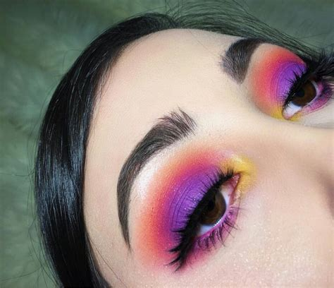 colorful makeup best 25 sunset makeup ideas on colorful