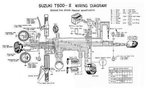 Suzuki Gt500 Wiring Diagram by 1972 Suzuki T350 Zx6r Forum
