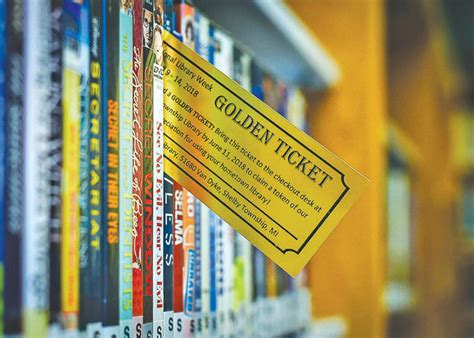 shelby library hides  golden  redeemable  prizes