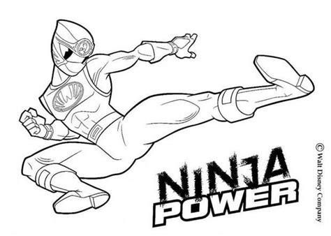 coloriages ninja power rangers frhellokidscom