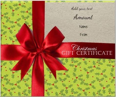 Christmas Gift Certificate Jpeg Box Download Your Favorite Digital