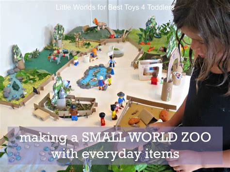 zoo items making everyday toys play toddlers less animals definitely