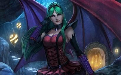Vampire Succubus Evil Female Fantasy Woman Dark