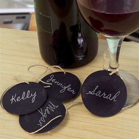 personalized drink tag glass charms project  decoart