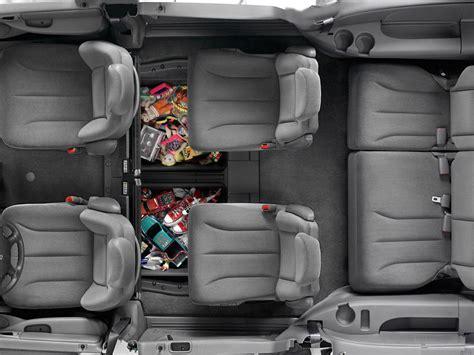 dodge grand caravan interior dimensions  seats folded