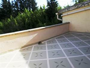 etancheite terrasse balcons loggias peinture decorative et With peinture d etancheite terrasse