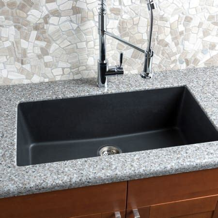 undermount kitchen sinks with drainer miseno mgr3318 br mocha 33 quot undermount single basin 8731