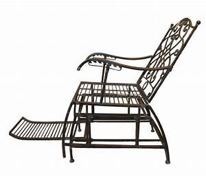 Fauteuil Fer Forgé : fauteuil rocking chair en fer forg vert de gris demeure et jardin ~ Melissatoandfro.com Idées de Décoration