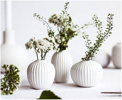 Deko Vasen Weiß by Vasen Set Hammersh 248 I 3 Tlg Einrichtung Und Dekoration