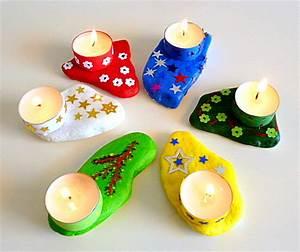 Bastelideen Weihnachten Kinder : teelichter auf steinen weihnachten basteln meine enkel und ich ~ Markanthonyermac.com Haus und Dekorationen
