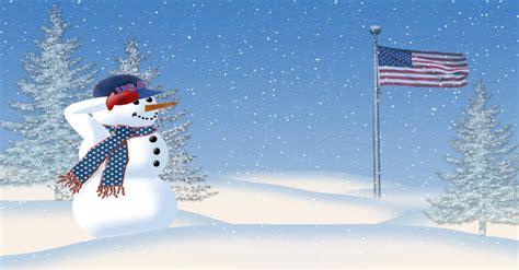 christmas tree salute    patriotic christmas