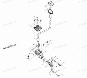 Polaris Atv 2000 Oem Parts Diagram For Gear Selector A00ch33ac